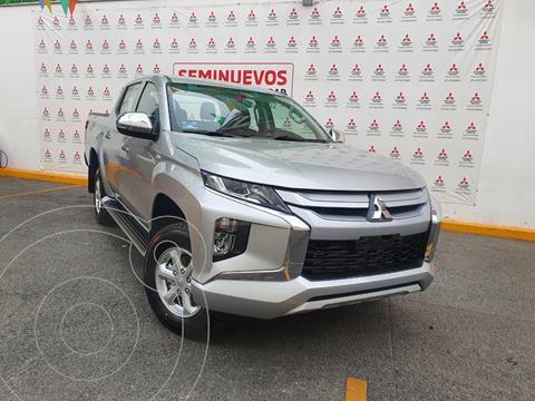 Mitsubishi L200 GLX 4x4   usado (2021) color Plata Metalico precio $498,000