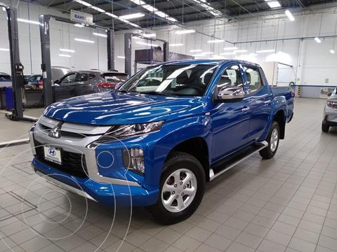 Mitsubishi L200 GLX 4x4   usado (2021) color Azul Acero precio $525,000