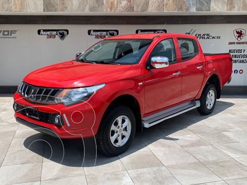Mitsubishi L200 4x4 2.5L DI-D Cabina Doble usado (2019) color Rojo precio $395,000