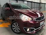 Foto venta Auto usado Mitsubishi Mirage GLS CVT (2017) color Rojo Tinto precio $185,000