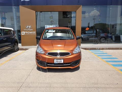 Mitsubishi Mirage GLX usado (2019) color Naranja precio $165,000