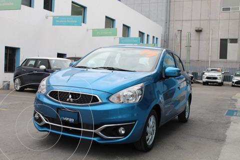 Mitsubishi Mirage GLX usado (2019) color Azul Claro precio $177,000