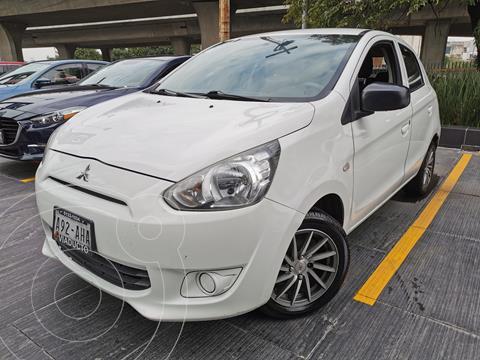 Mitsubishi Mirage GLX usado (2016) color Blanco Perla precio $122,000