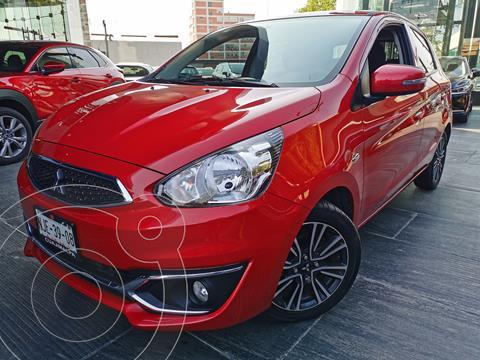 Mitsubishi Mirage GLS usado (2018) color Rojo financiado en mensualidades(enganche $45,500 mensualidades desde $4,286)
