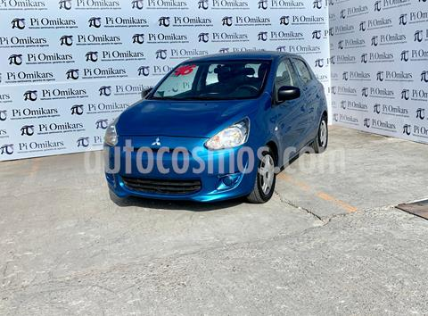Mitsubishi Mirage GLX usado (2016) color Azul precio $115,000