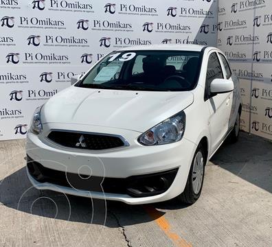 Mitsubishi Mirage GLX usado (2019) color Blanco precio $170,000
