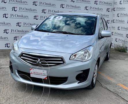 Mitsubishi Mirage GLX usado (2019) color Gris precio $210,000