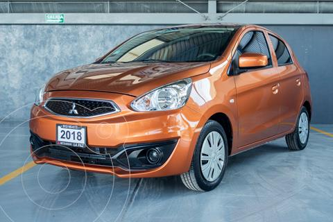Mitsubishi Mirage GLX usado (2018) color Naranja precio $165,000