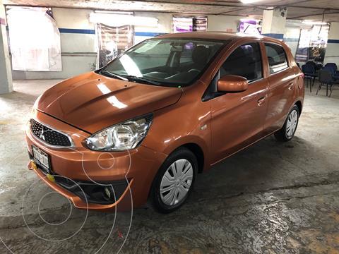Mitsubishi Mirage GLX CVT usado (2018) color Naranja precio $180,000