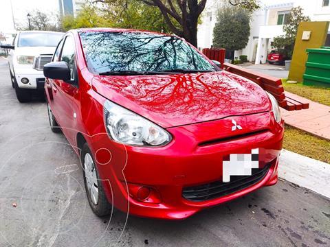 Mitsubishi Mirage GLX CVT usado (2016) color Rojo precio $115,000