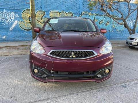 Mitsubishi Mirage GLX usado (2019) color Rojo Tinto precio $170,000