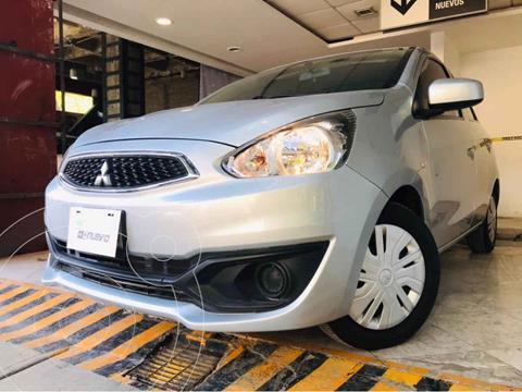 Mitsubishi Mirage GLX CVT usado (2017) color Plata precio $144,000