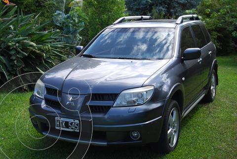 Mitsubishi Outlander GLS 2.4 usado (2008) color Gris precio $950.000