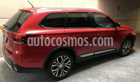 Mitsubishi Outlander 2.4L SE Plus usado (2016) color Rojo precio $265,000