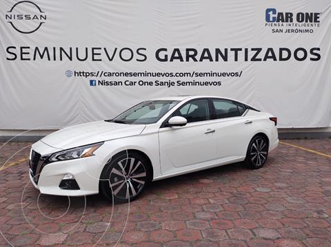 Nissan Altima Exclusive Turbo usado (2020) color Blanco precio $599,000
