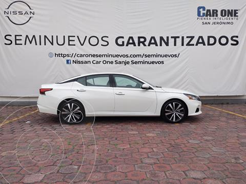 Nissan Altima Exclusive usado (2020) color Blanco precio $599,000