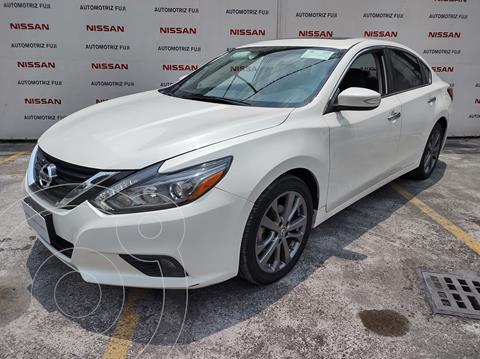 Nissan Altima Exclusive usado (2018) color Blanco precio $468,000
