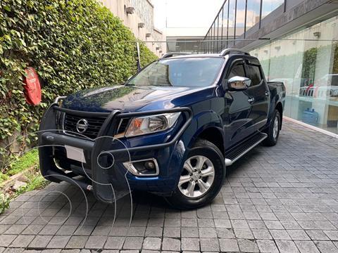 Nissan Frontier  LE 2.4L  usado (2017) color Azul precio $350,000