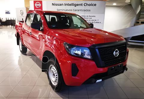 Nissan Frontier  SE 2.4L 4x2  usado (2021) color Rojo precio $460,900