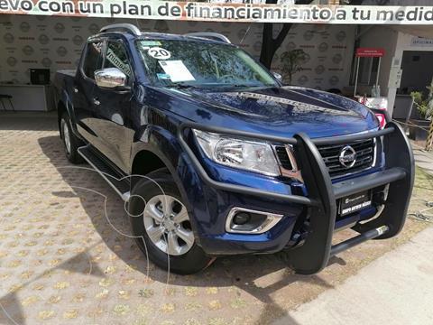 Nissan Frontier LE  usado (2020) color Azul precio $435,000