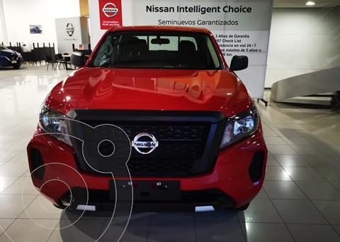 Nissan Frontier  SE usado (2021) color Rojo precio $460,900