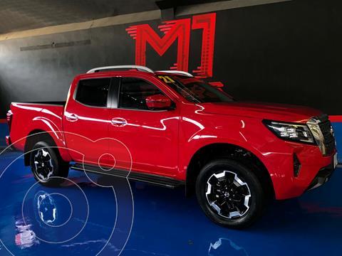 Nissan Frontier  LE Aut Platinum usado (2021) color Rojo precio $598,000