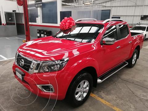 Nissan Frontier  LE  usado (2020) color Rojo financiado en mensualidades(enganche $134,500)