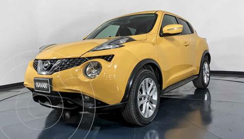 Nissan Juke Advance CVT usado (2017) color Amarillo precio $277,999