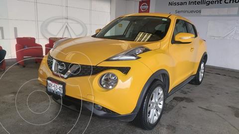 Nissan Juke Exclusive usado (2017) color Amarillo precio $290,000