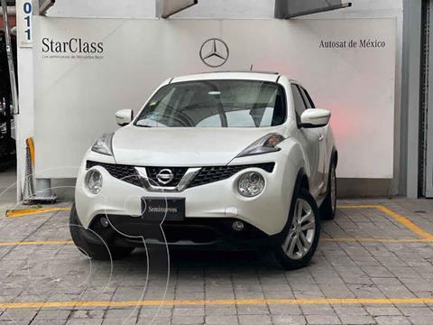 Nissan Juke Exclusive CVT usado (2017) color Blanco precio $285,000