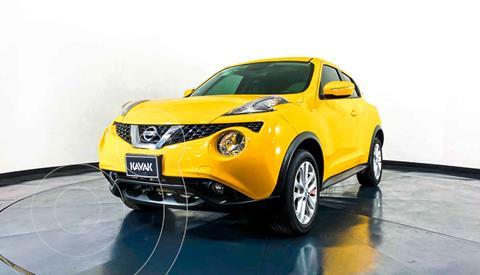 Nissan Juke Exclusive CVT usado (2016) color Amarillo precio $244,999