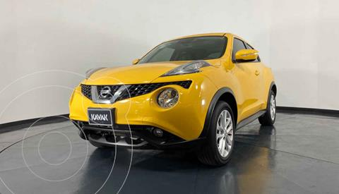 Nissan Juke Exclusive CVT usado (2016) color Amarillo precio $242,999