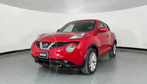 Nissan Juke Exclusive CVT usado (2017) color Rojo precio $307,999