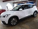 Foto venta Auto usado Nissan Kicks Advance Aut (2018) color Blanco precio $244,900