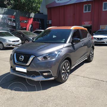 Nissan Kicks Exclusive CVT usado (2018) color Gris precio $3.390.000
