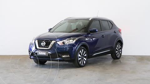 Nissan Kicks Advance CVT usado (2018) color Azul Oscuro precio $2.730.000