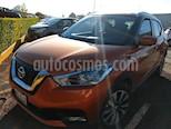 Foto venta Auto usado Nissan Kicks Exclusive Aut (2017) color Naranja Metalico precio $256,000