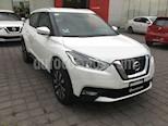 Foto venta Auto usado Nissan Kicks KICKS ADVANCE CVT A/C NEGRO (2018) color Blanco precio $290,000