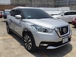 Foto venta Auto usado Nissan Kicks KICKS ADVANCE NEGRO (2017) color Plata precio $255,000