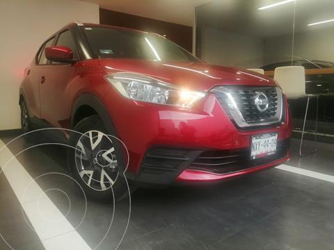 Nissan Kicks Sense usado (2020) color Rojo precio $299,800