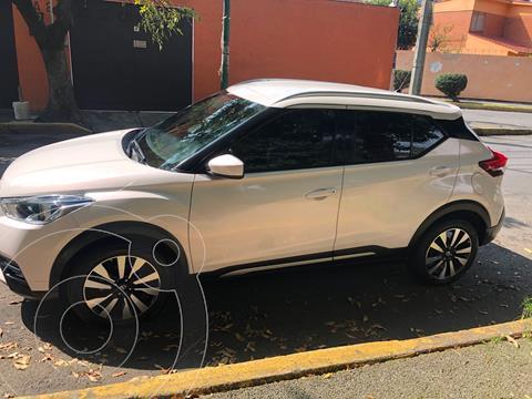 Nissan Kicks Advance Aut usado (2018) color Blanco precio $229,500