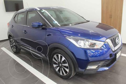 Nissan Kicks Exclusive Aut usado (2019) color Azul precio $339,000