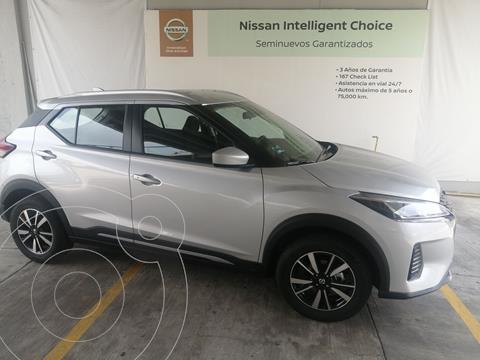Nissan Kicks Advance usado (2021) color Plata Dorado precio $347,000