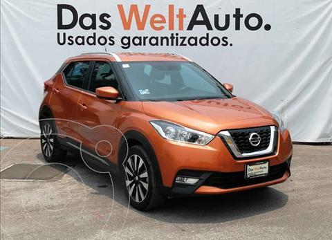 Nissan Kicks Advance Aut usado (2020) color Naranja precio $309,000