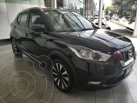 Nissan Kicks 5 PTS EXCLUSIVE, 16L, TA, A/AC AUT, PIEL, VE, GPS usado (2018) color Negro precio $294,900