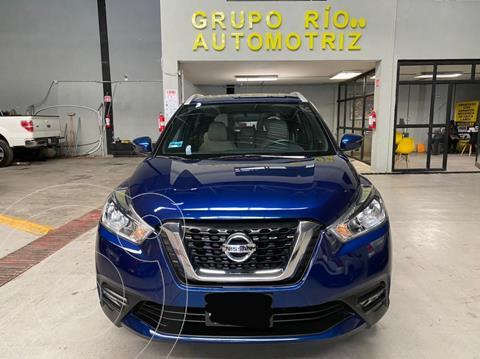 Nissan Kicks Exclusive Aut usado (2017) color Azul precio $249,000
