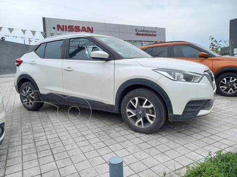 Nissan Kicks Sense usado (2018) color Blanco precio $275,000