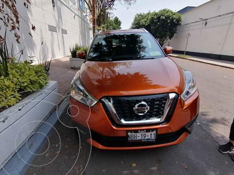 Nissan Kicks Advance Aut usado (2017) color Naranja precio $250,000