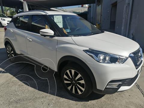 Nissan Kicks Exclusive Aut usado (2020) color Blanco precio $390,000