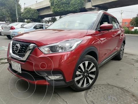 Nissan Kicks Exclusive Aut usado (2020) color Rojo precio $379,000